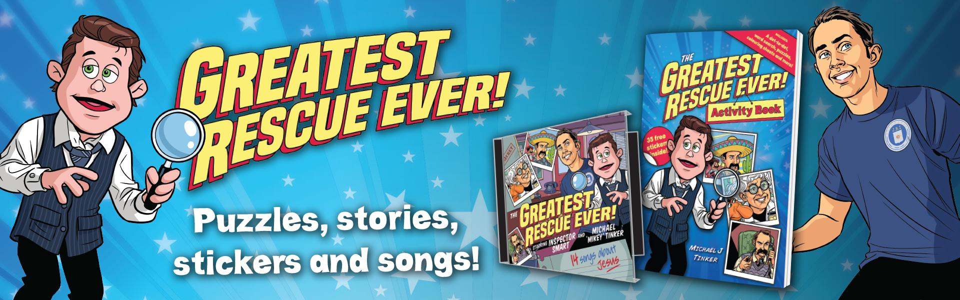 Greatest Rescue Ever Sticker Book