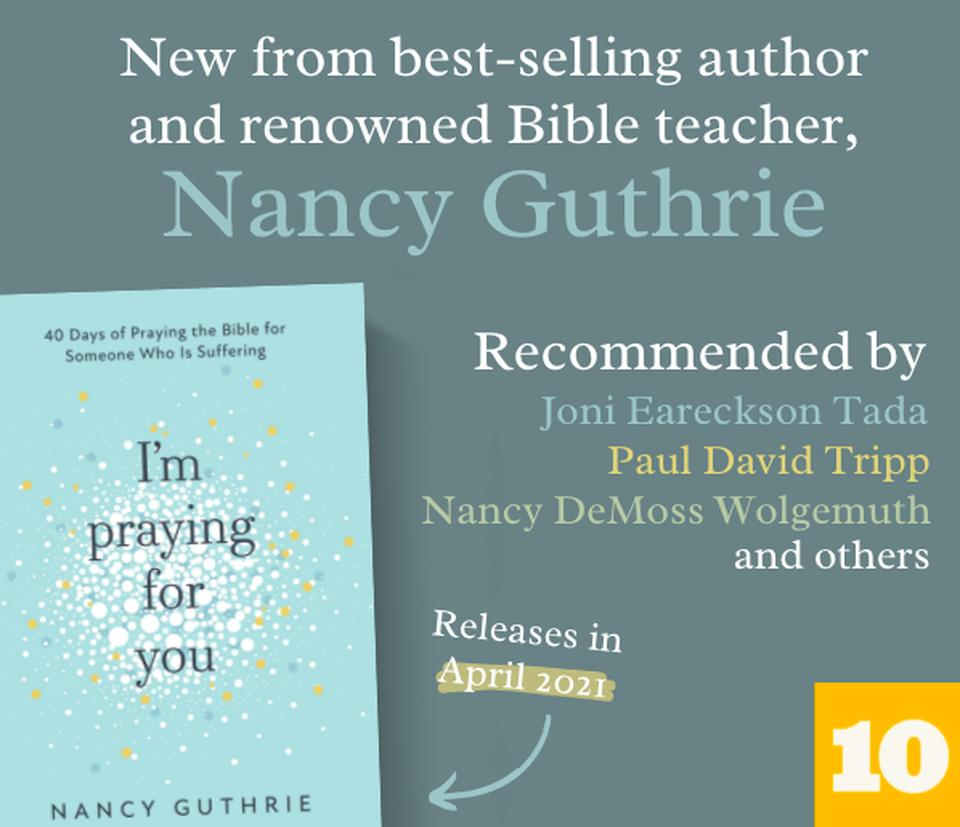 New from Nancy Guthrie