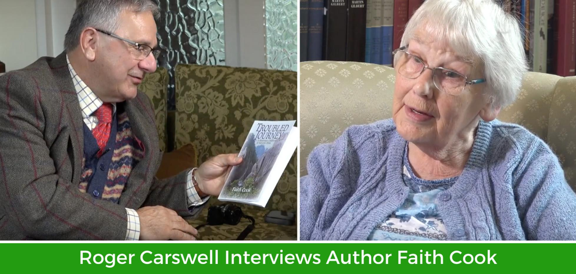 Faith Cook Interview with Roger Carswell