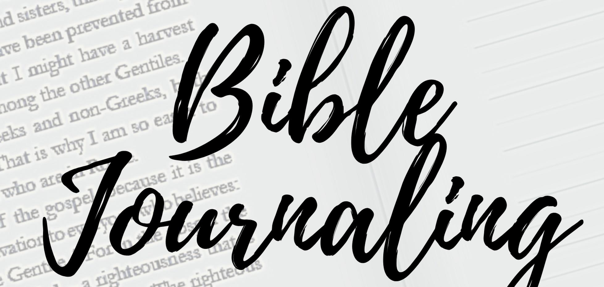 An Introduction to Bible Journaling