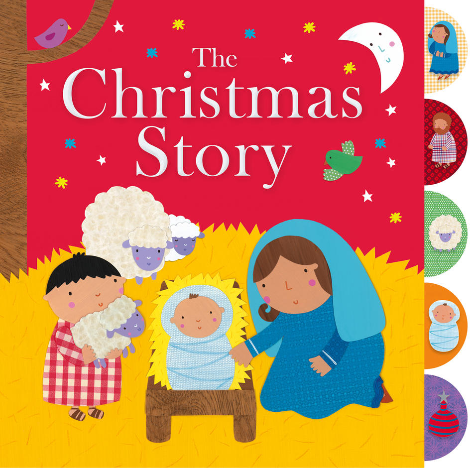 The Christmas Story Book.The Christmas Story
