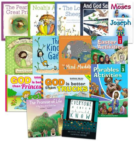 Kid's Book Pack (Ages 3-7) by