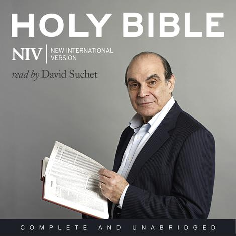 NIV Audio Bible: Read by David Suchet by David Suchet