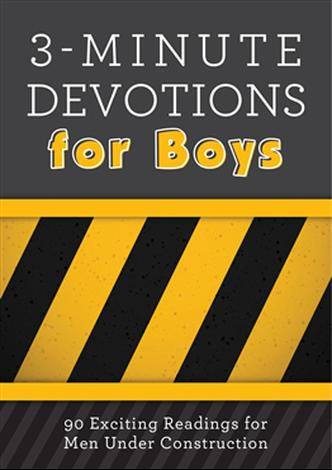 3-Minute Devotions for Boys by Glenn Hascall