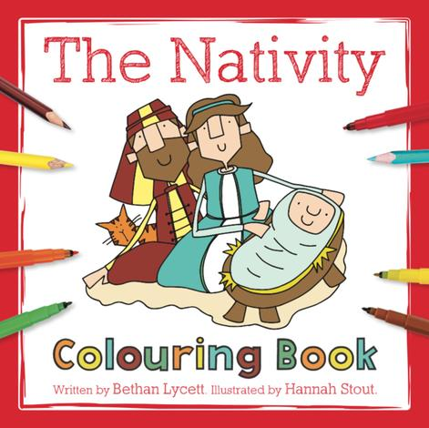 The Nativity Colouring Book by Bethan Lycett and Hannah Stout