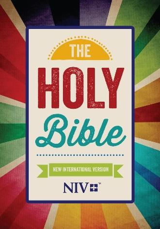 NIV 2011: Popular Paperback Rays Cover by