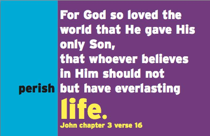 John 3v16 Business Cards by