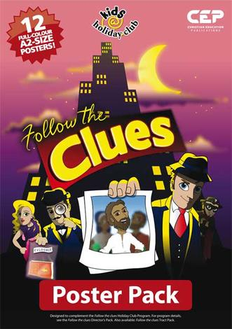 Follow the Clues (Full colour A2 Poster Pack of 12) by Ian Morrison