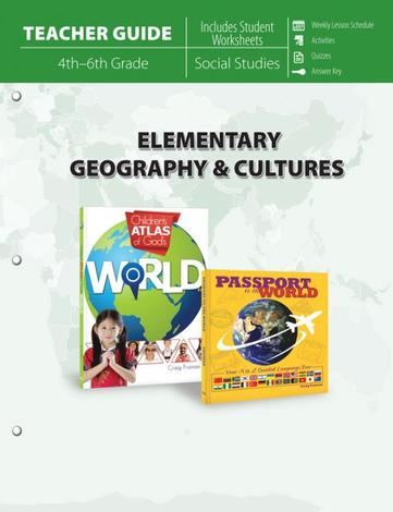Elementary Geography & Cultures (Teacher Guide) by