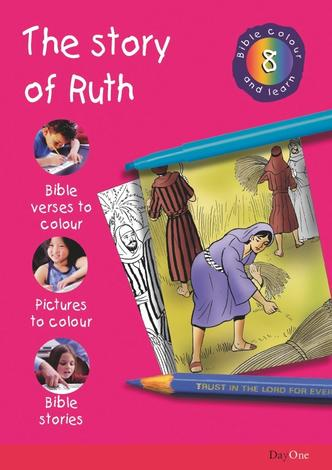Bible Colour and learn: 08 Ruth by