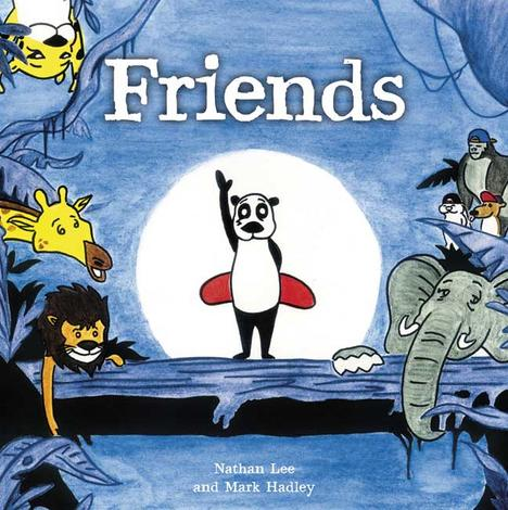 Friends [Panda Stories] by Mark Hadley