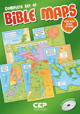 Complete Set of Bible Maps by