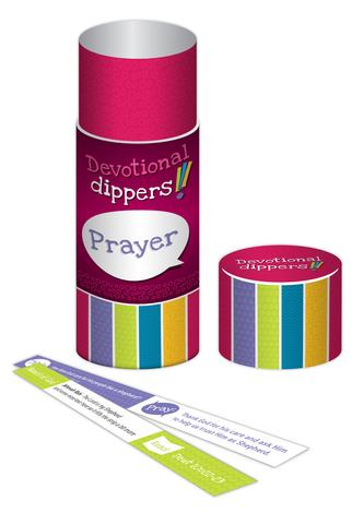 Devotional Dippers (Prayer) by Andrew Sweasey