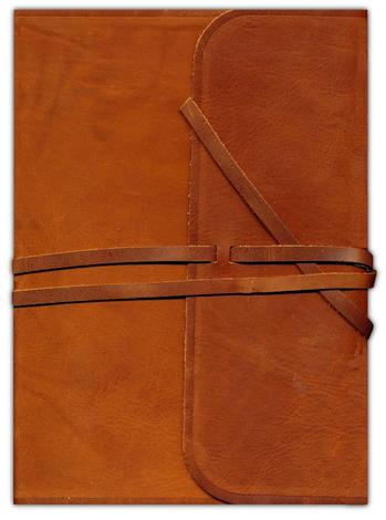 ESV Single Column Journaling Bible (Natural Leather) by