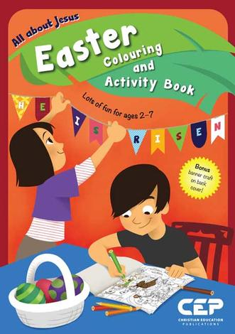 Easter Colouring and Activity Book by