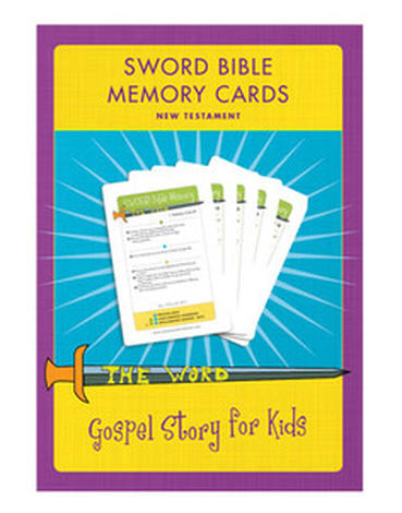Sword Bible Memory Cards (New Testament) CD by Marty Machowski