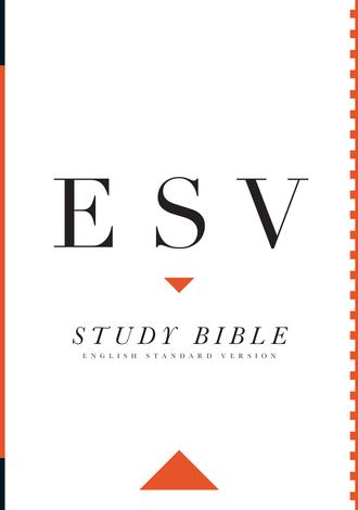 ESV Study Bible Hardcover by