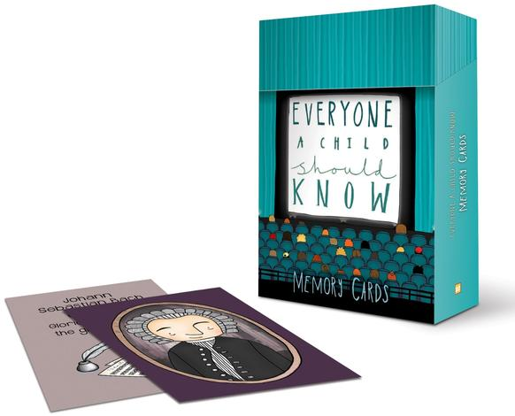 Everyone a Child Should Know Memory Cards by Clare Heath-Whyte