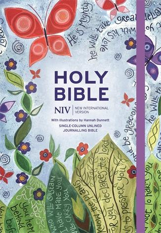 NIV Journalling Bible Illustrated by Hannah Dunnett by
