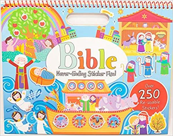 Bible Never-Ending Sticker Fun! by
