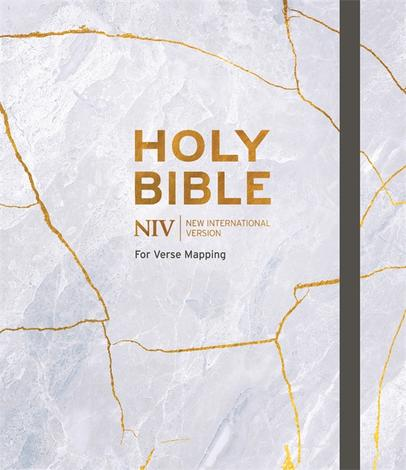 NIV Bible Marble Cover by