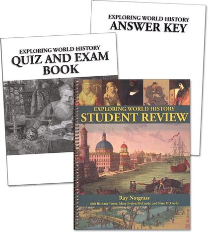 Exploring World History Student Review Pack by