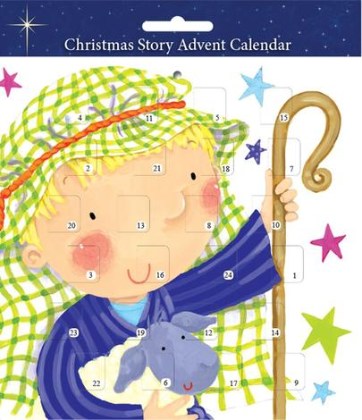 Shepherd Children's Christmas Advent Calendar by