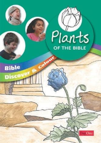 Bible discover and colour: Plants by Philip Snow