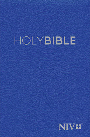 NIV 2011: Popular Hardback Blue Pew Bible by