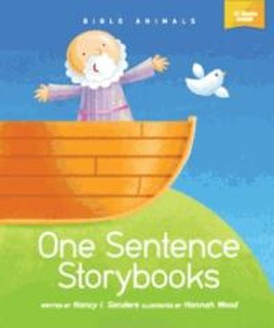 One Sentence Storybook (10 Box Set) - Bible Animals by Nancy  Sanders