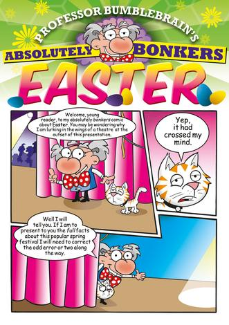 Professor Bumblebrain's Absolutely Bonkers Easter [Pack of 10] by Andy Robb