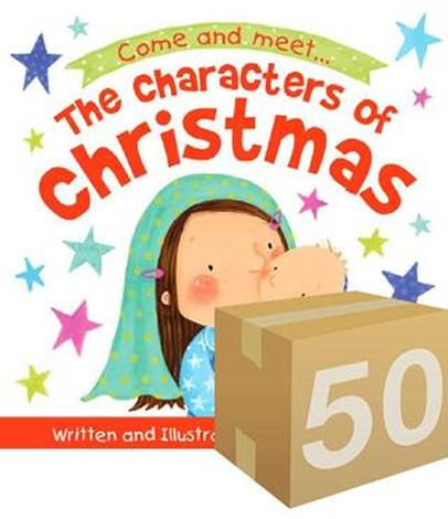 The Characters of Christmas Storybook (Give Away) by Ruth Hearson