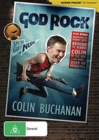 God Rock DVD by Colin Buchanan