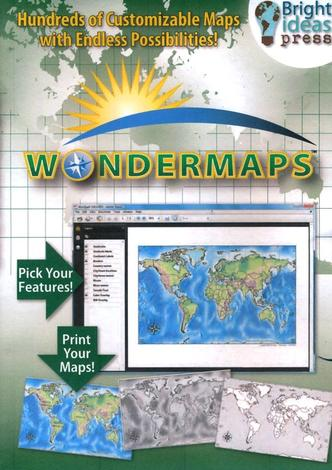 WonderMaps CD by