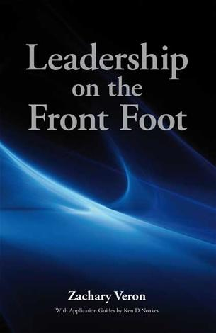 Leadership on the Front Foot by Zachary Veron