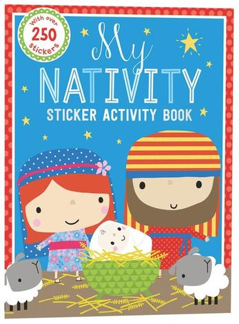 My Nativity Sticker Activity Book by