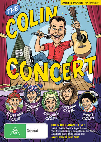 The Colin Concert DVD by Colin Buchanan