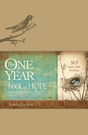 The One Year Book of Hope (LeatherLike) ~ Nancy Guthrie by Nancy Guthrie