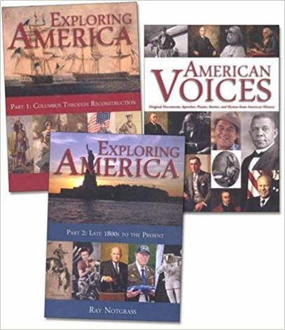 Exploring America Curriculum Package by