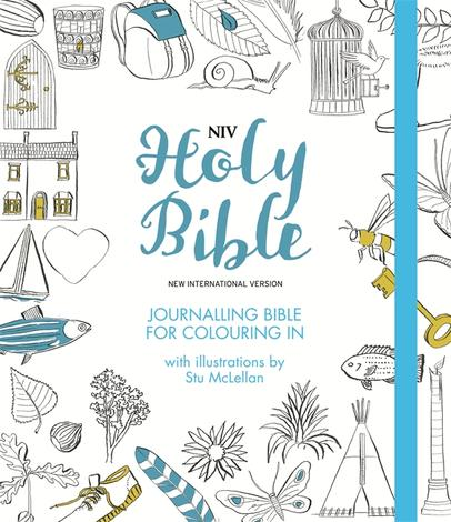 NIV Journalling Bible for Colouring In by