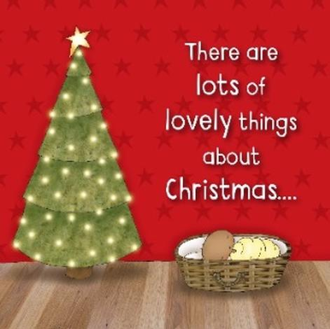 Christmas Cards – There are lots of lovely things about Christmas… by