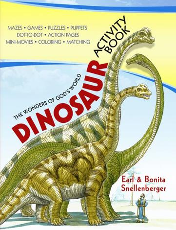 Dinosaur Activity Book by