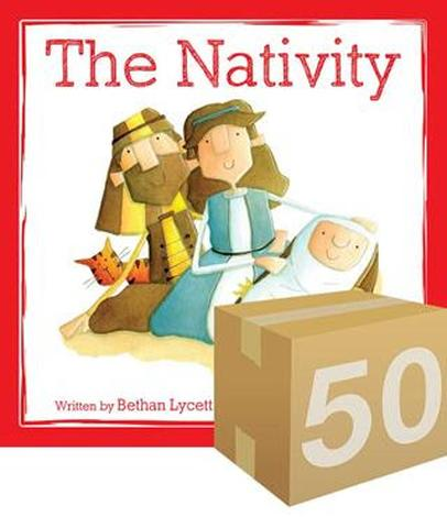 The Nativity (Give Away) by Bethan Lycett and Hannah Stout