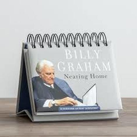 Billy Graham Nearing Home Perpetual Calendar by