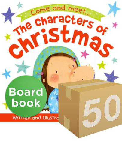 GIVE–AWAY: The Characters of Christmas Board Book by Ruth Hearson