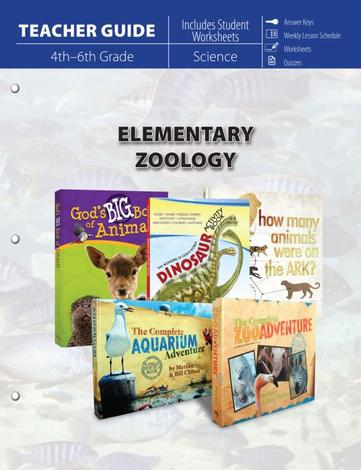 Elementary Zoology (Teacher Guide) by
