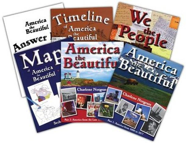 America the Beautiful Curriculum Package by