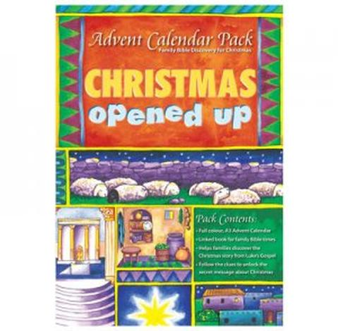 Christmas Opened Up – Advent Calendar Pack by Alison Mitchell