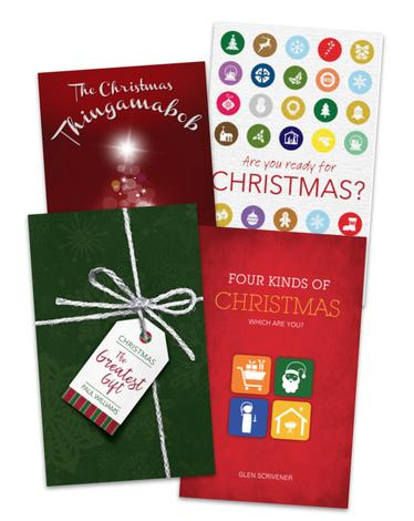 Evangelistic Christmas Book Pack by