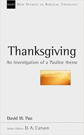 Thanksgiving by David W Pao